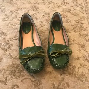 Kate Spade New York patent leather loafers- size 6